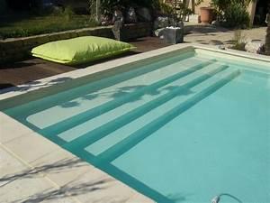 dimension escalier piscine beton kg37 jornalagora With hauteur marche piscine beton