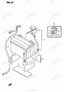 Suzuki Motorcycle 1995 Oem Parts Diagram For Battery