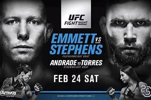 Ufc On Fox  Emmett Vs  Stephens Live Results  Discussion  Play By Play