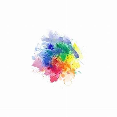 Smoke Colored Splash Burst Clipart Transparent Colorful