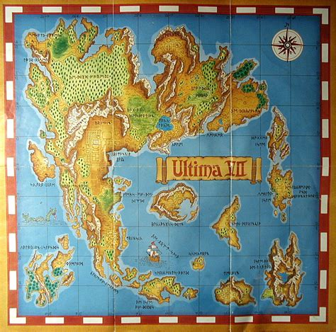 Computer Game Museum Display Case - Complete Ultima VII, The