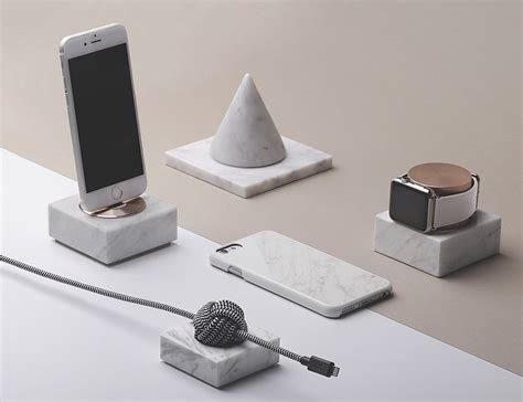 2387 union iphone dock union dock marble edition charging dock 187 gadget flow