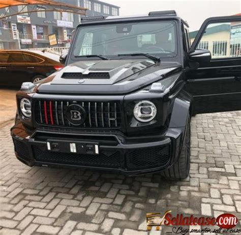 Brand new beutiful black mercedes benz g wagon. Brand new 2020 Mercedes Benz G800 Brabus for sale in Ni Sell At Ease Online Marketplace| Sell to ...