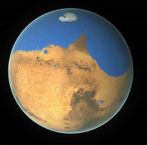 Mars is Thirsty: It lost an Ocean of Water – The Solstice Blog