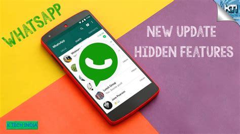 cool whatsapp trick new whatsapp update whatsapp new features