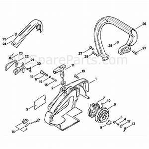 Stihl 009 Chainsaw  009leqz  Parts Diagram  J