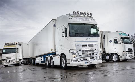 volvo reliability ensures liner transports