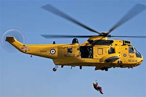 Raf Sea King Search And Rescue Helicopter 2 by Steve Purnell