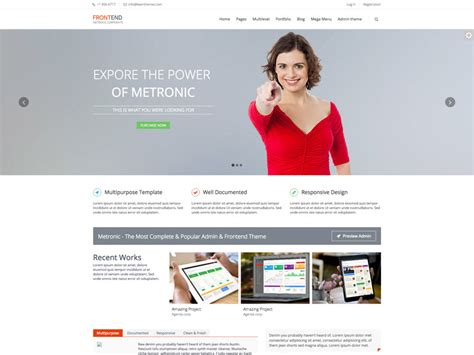 Best Free Multipurpose Bootstrap Corporate Business