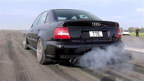 hp audi   bi turbo loud start accelerations