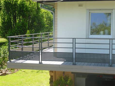 barriere de terrasse pas cher avec garde corps pour terrasse exterieur obasinc idees et