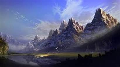 Mountain 4k Mountains Wallpapers Fantasy Mysterious Background