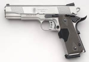 Smith and Wesson 45 Cal Handgun