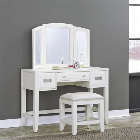 Makeup Vanity by Makeup Vanities Bedroom Furniture The Home Depot