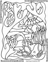 Coloring Pages Lei Template Undersea Adventure Views sketch template