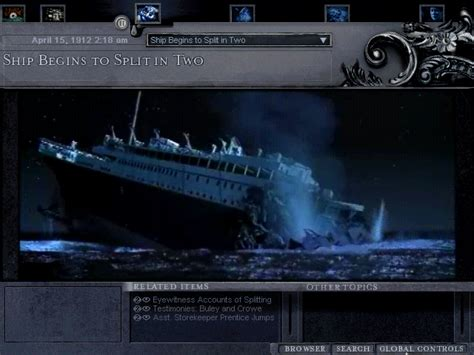 titanic sinking simulation image search results