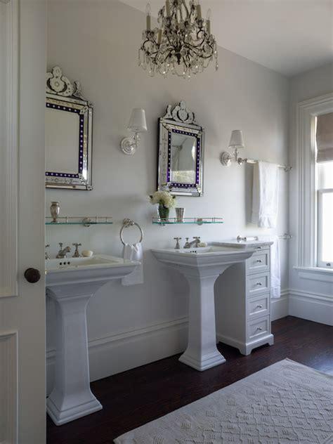 sink ideas transitional bathroom