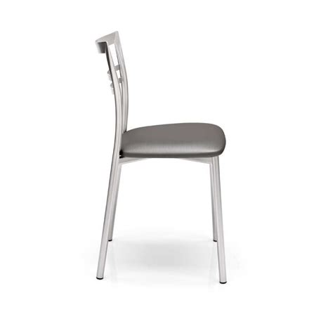 chaise en metal chaise de cuisine design en métal go 4 pieds tables
