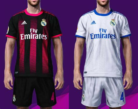 Get the new real madrid adidas kits for seasons 2017/2018 for your dream team in dream league soccer 2017 and fts15. Real Madrid Concept Kits PES 2020 By BeDoo S. - PES Patch