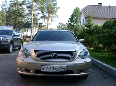 Used 2005 Lexus Ls430 Photos 4300cc Gasoline Fr Or Rr