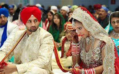Punjabi Couples Wallpapers Couple Marriage Indian Sikh