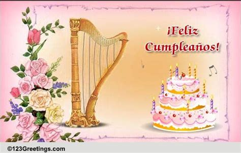 beautiful bday   spanish  specials ecards greeting cards