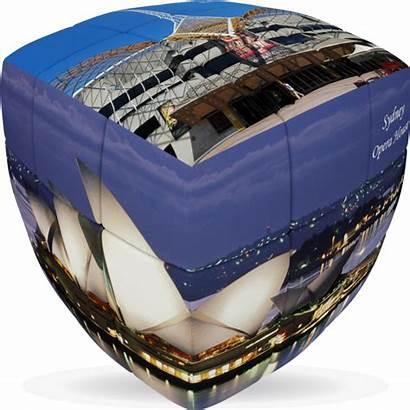 Cube Australia Puzzle Experience Iconic Pillow Visit