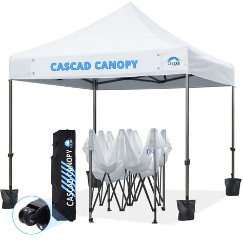 cascad canopy   feet ez pop  canopy outdoor tent  removable diy banner commercial