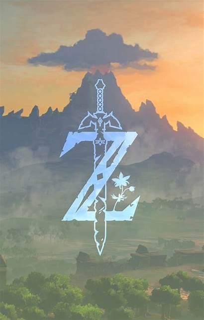 Zelda Legend Phone Botw Breath Wild Wallpapers