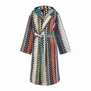 buy missoni home taylor hooded bathrobe 100 amara With robe missoni