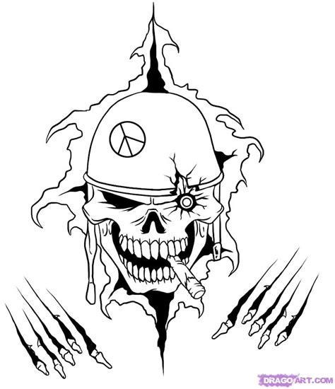 Dragoart Skull Viralnova Clip Art Library