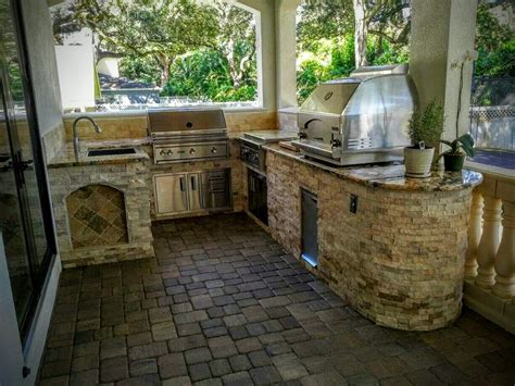 backyard outdoor kitchen creative outdoor kitchens outdoor kitchen with grill