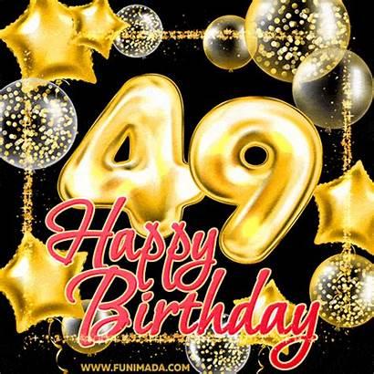 Birthday 40th 18th Happy 49th Animated 44th