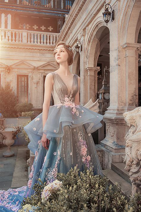 magical wedding gowns   winter fairy tale bride