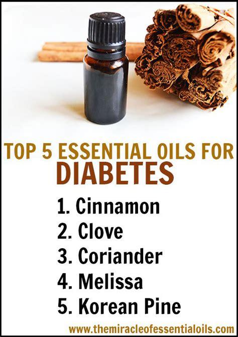 top  essential oils  diabetes  diy blends
