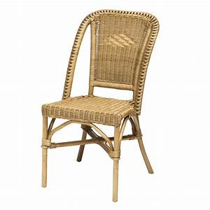 Chaise De Bar En Rotin : chaise de bar en osier maison design ~ Teatrodelosmanantiales.com Idées de Décoration