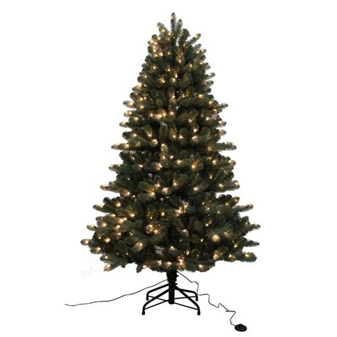 home accents holiday 6 5 ft blue spruce elegant twinkle