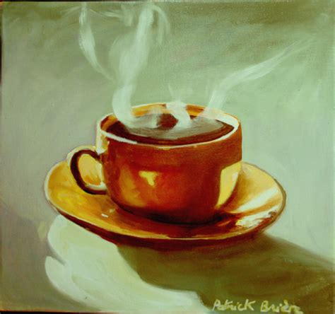 briere artiste peintre chocolat chaud