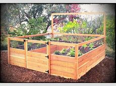 Recycled Brick Raised Vegetable Garden Bed Small Plus