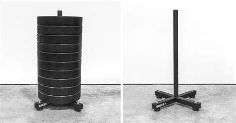 rogue  bumper stacker plate storage rogue fitness