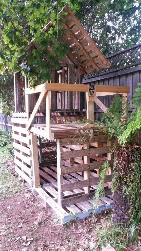 Backyard Forts by A Bit Of This That And Everything Pallet Project