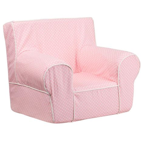 light pink chair flash furniture small light pink dot chair with white