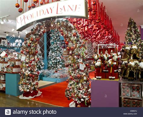 Macy's Department Store, Christmas Displays, Nyc Stock Photo, Royalty Free Image 40031730 Alamy