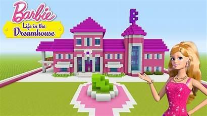 Barbie Minecraft Dream Tutorial Dreamhouse Build Instructions