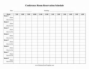 daily conference room reservation template With conference room reservation template