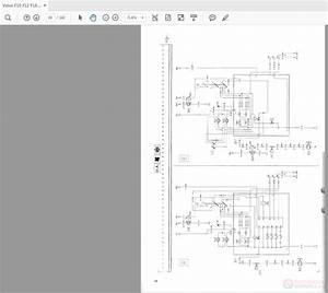 Volvo F12 F16 Lhd Trucks Wiring Diagram Service Manual Download