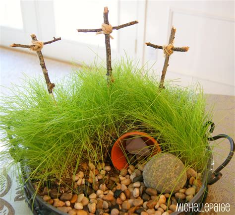 Michelle Paige Blogs Easter Cross Crafts