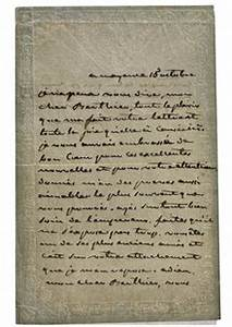 josephine39s letters to trusted napoleon general to go on With napoleon letters for sale