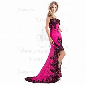 robe de mariage asymetrique courte devant et longue With robe courte rose