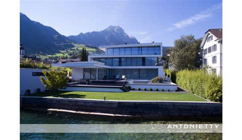 Villa Am See Hergiswil  Antonietty Architekten